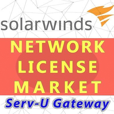 Solarwinds Serv-U Gateway License - SLX, Permanent and Unlimited