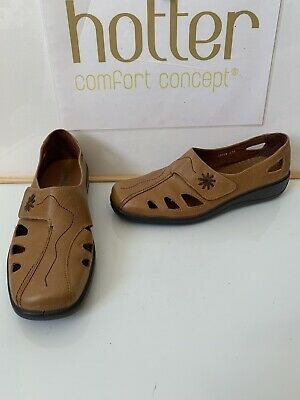 Hotter Passion Leather Shoes Size UK 6 EU 39