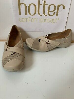 Hotter Alexis Smart Leather Shoes Size UK 7.5 EU 41.5