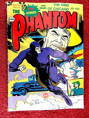 """The  Phantom  #1092  """" The King Of Chicago """"  Frew Comic  100  Pages"""