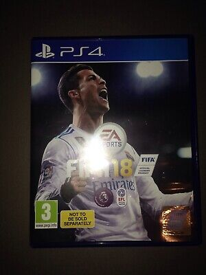 FIFA 18 PS4 Game Sony PlayStation 4. Very Good Condition To Excellent Condition