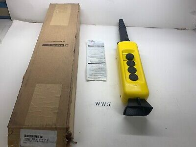 New SCHNEIDER ELECTRIC Jog Pendant Hoist Crane Pendant Part  XAC-A04H7 Warranty
