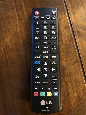 Replacement Remote Control for Lg 47LN5778  47LN5778-ZK