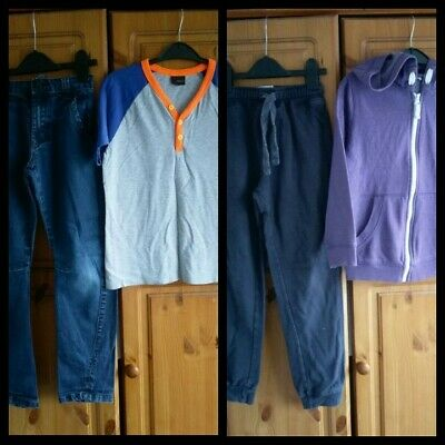 Boys Outfits bundle Top,Jumper,jeans,jogging bottoms Next,George 8-9 Years