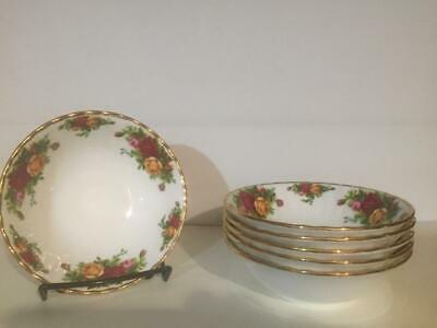 """6 Royal Albert Old Country Roses 6"""" Cereal Bowls NWOT 11 Sets Avail."""