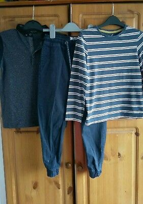 boys outfit tops and trousers Next,TU 7-8 years