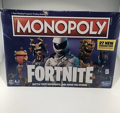 Fortnite Monopoly Edition Board Game NEW Hasbro Fortnight NEW factory sealed X