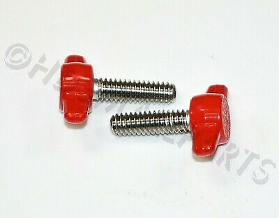 1//4-20 x 7//8 Thumb Screws with Tee//Wing Butterfly Thumb Screws 20