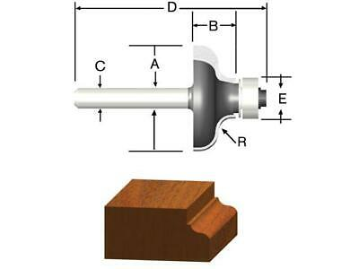 """Vermont American Various Styles to choose from-1/4"""" Shank-Carbide Router Bits"""