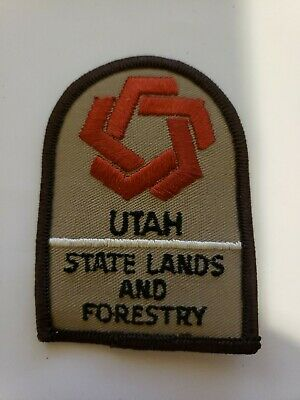 Utah State Lands and Forestry  VERY RARE  patch