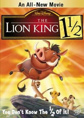 The Lion King 1 1/2 - DVD - VERY GOOD