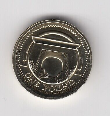 2006 ONE POUND In Brilliant UNCirculated Condition Extremely Nice Coin   (3159)