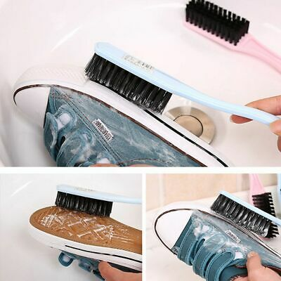 Long Handled Soft Cleaning Tool Dust Scrubber Boot Cleaner Shoes Brush