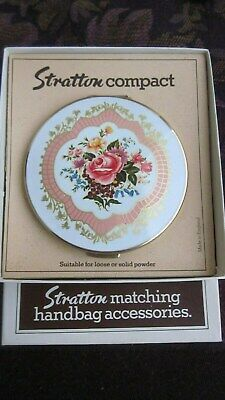1960,s original Stratton compact in as new cond,in orig box.