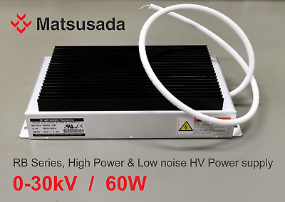 Matsusada RB60-30P 30kV/60W High voltage power supply