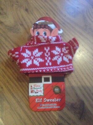 Christmas elf clothes jumper, props,  on the,  accessories  Christmas Jumper