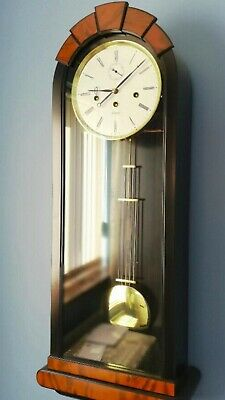 Kieninger pendulum wall clock regulator