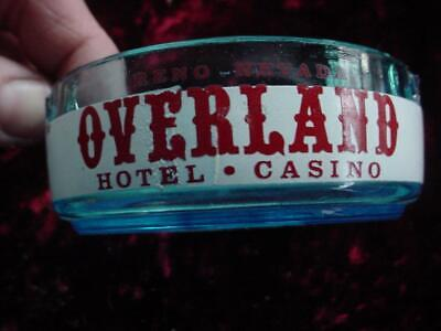 Vintage Overland Hotel Casino Reno Nevada ashtray