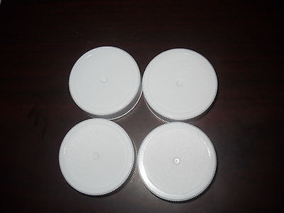 Growler Caps Poly Seal - Set of 50 Lids Fit Most 1/2 & 1 Gallon Beer Replacement
