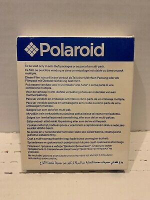 Polaroid Instant Film Type 600 10 Photos New Old Stock Unopened  Exp 06/03