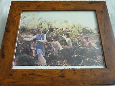 Framed Lobby card Promotional Press Photo lost horizon ross hunters musical