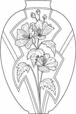 Flower Flowers Spray #9 Unmounted Clear Stamp Approx 48x60mm