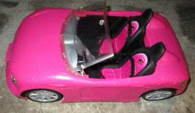 ©2013 Mattel Barbie Hot Pink Convertible Cruiser BDF38, Glam Car, Pretty in Pink