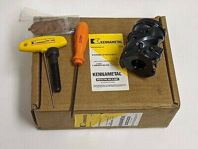 """Kennametal M1HR250E14S100Z3L300C12  2.5"""" 3 FLUTE 4 HIGH INDEXABLE SHELL MILL"""