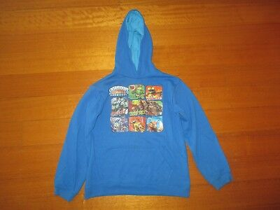 Skylanders Giants (Official Licensed) Blue Hooded Windcheater - Size 10