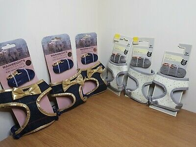 cat harness and leads (Joblot) 3x and 3x of each