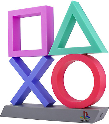 Playstation Icons Light XL   3 Light Modes - Music Reactive Game Room Lighting  