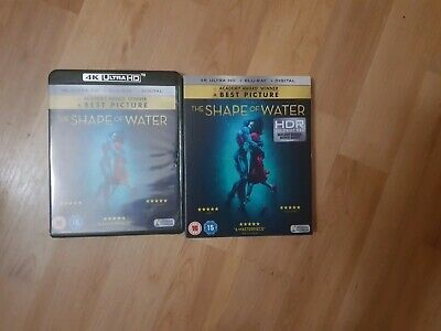 The Shape of Water (4K ultra hd + Blu-ray + Digital Download + slip cover