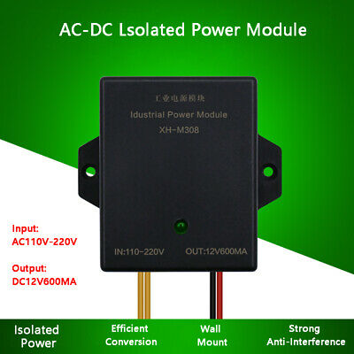 XH-M308 industrial power module electrical cabinet adapter AC-DC 110-220V