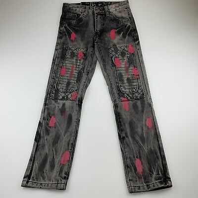 Girls,Boys size 8, 7 Souls, New York slim fit jeans, paint distressed, NEW
