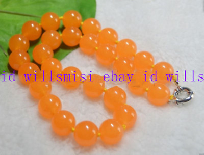 """Natural 6//8//10//12mm Rare Orange South America Topaz Round Loose Beads 15/""""AAA"""