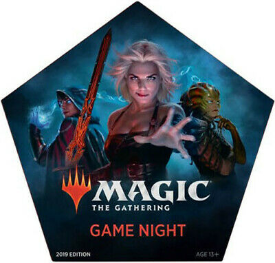 MTG Game Night 2019 Commander Box Set Magic the Gathering Factory Sealed
