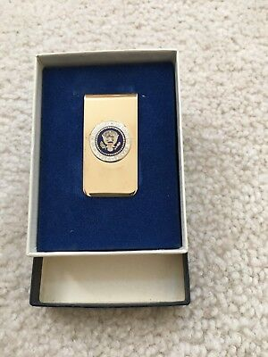 *RARE*  President Jimmy Carter  - Official Presidential Seal VIP Gift Money Clip