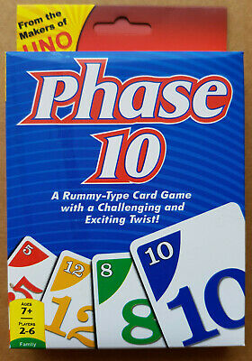 PHASE 10 A Rummy-type Card Game, Post from Melbourne