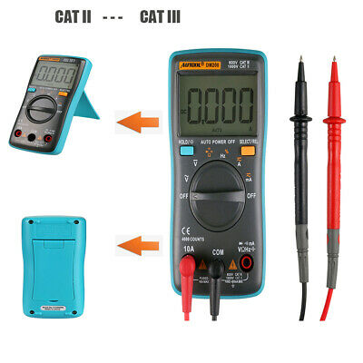 Portable Handheld Digital Multimeter AC/DC Tester Auto-ranging with 4000 Counts