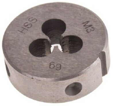 RS Pro HIGH SPEED STEEL DIE 25mm Outside Diameter- M3x0.5mm Or M4x0.7mm
