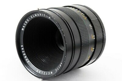 Leica MACRO-ELMARIT-R 60mm f/2.8 MF Lens Good