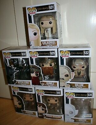 FUNKO POP VINYL THE LORD OF THE RINGS  MULTI CHOICE (selling collection)