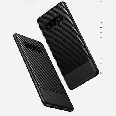 Anti-shock Drop-proof Soft TPU Back Cases Cover For Samsung Galaxy S10 S9 Note 8