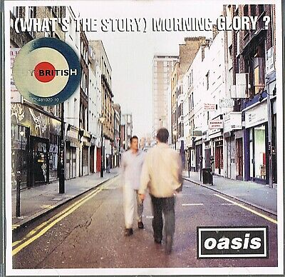 Oasis (What's the story) morning glory?   - CD - Songs  siehe Fotos