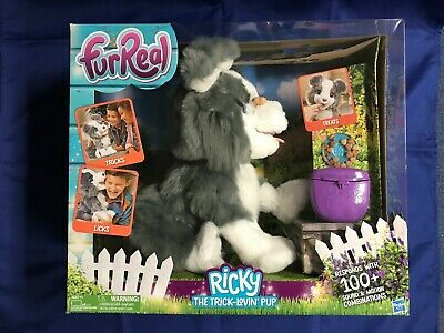 FurReal Friends Ricky, Trick-Lovin' Interactive Plush Pet Toy BRAND NEW-IN-BOX