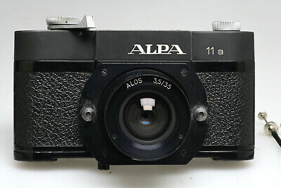 """Alpa 11a + ALOS 3,5 / 35 mm Swiss Made """" Post Camera """"  with cable release, NICE"""