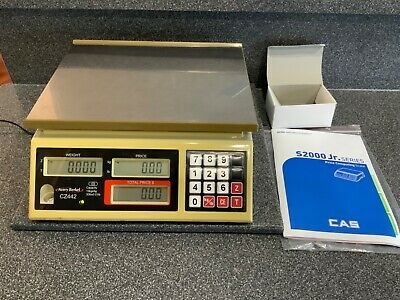 Cas Price Computing Scale S2000Jr. 30 x .01 Capacity