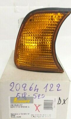 Headlight BMW 518 520 Right Leart Orange S5 Made in Italy