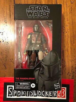 "Star Wars The Black Series 6"" #94 The Mandalorian In Hand Ready to ship"