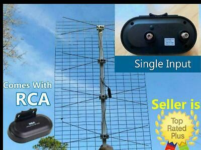 The Ultimate Outdoor TV Antenna Comes With RCA Preamplifier Booster